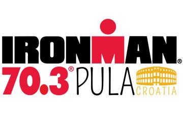 Logo Ironman 70.3 Pula