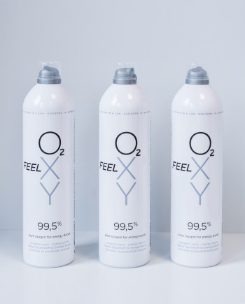 3 large cans 12L FeelOXY