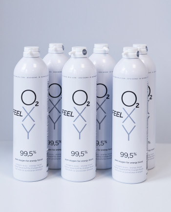 6 large cans 12L FeelOXY with nozzle