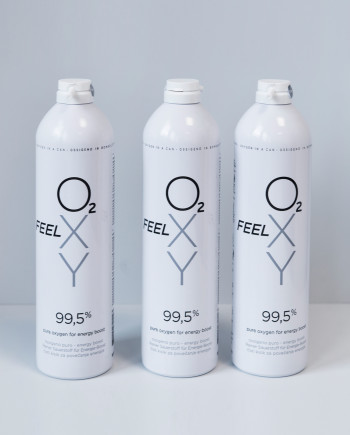 3 large cans 12L FeelOXY with nozzle