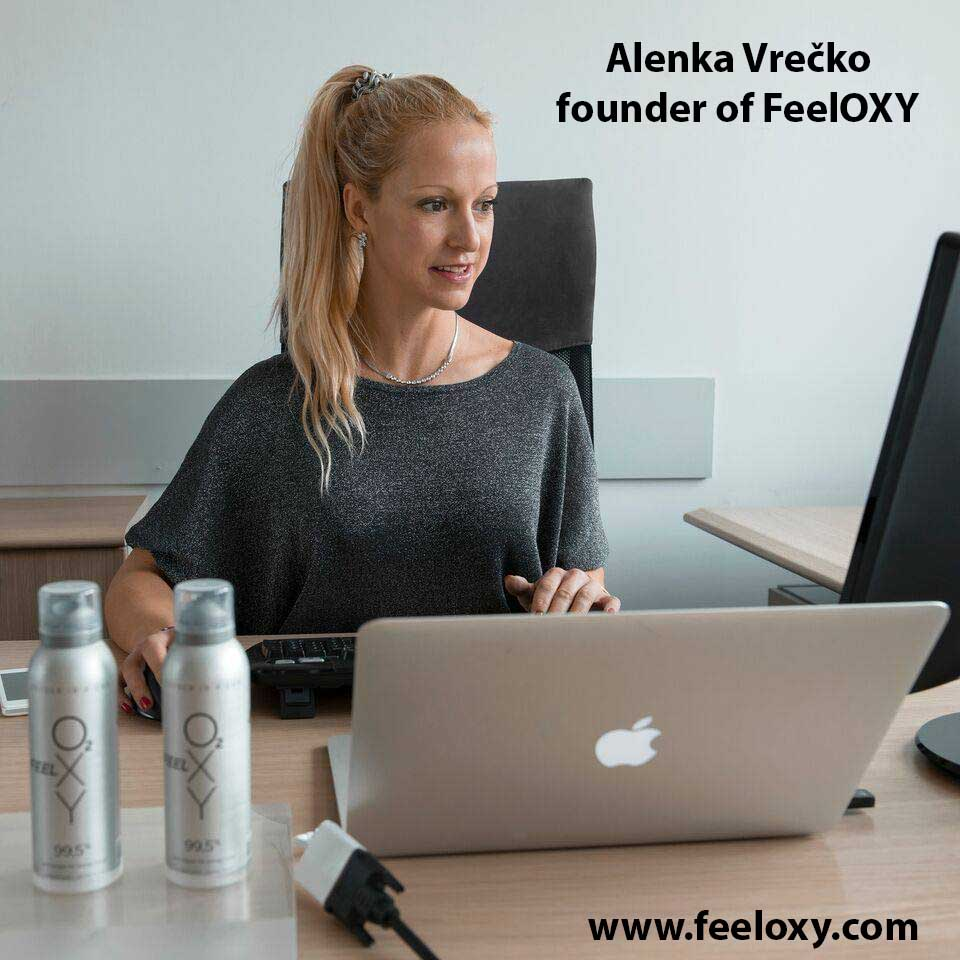 Alenka Vrečko - CEO FeelOXY