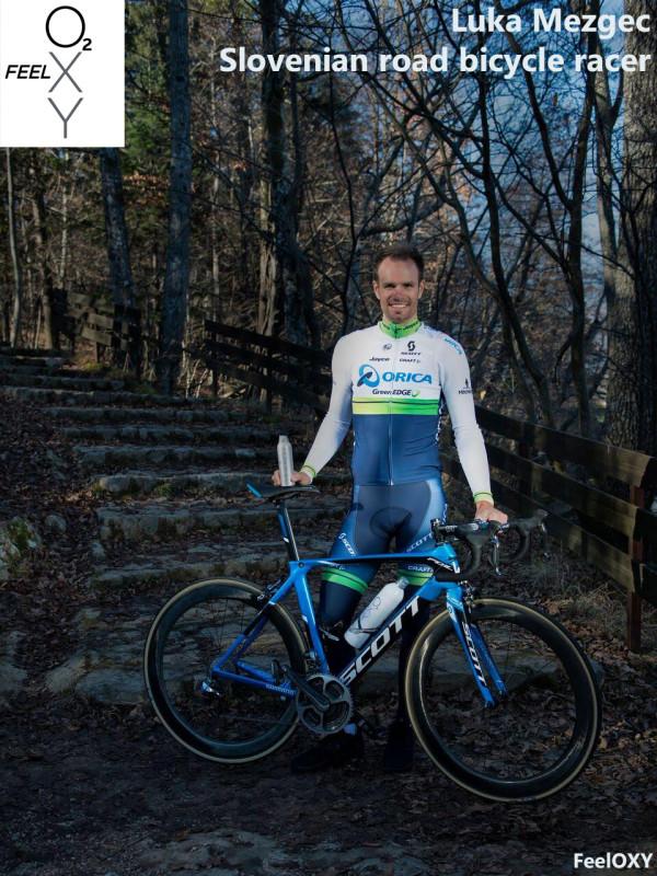 Luka Mezgec - professional cyclist