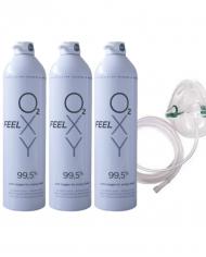 oxygen mask trio