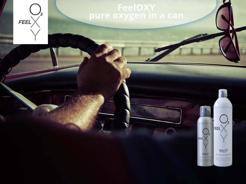 Long distance driving with FeelOXY